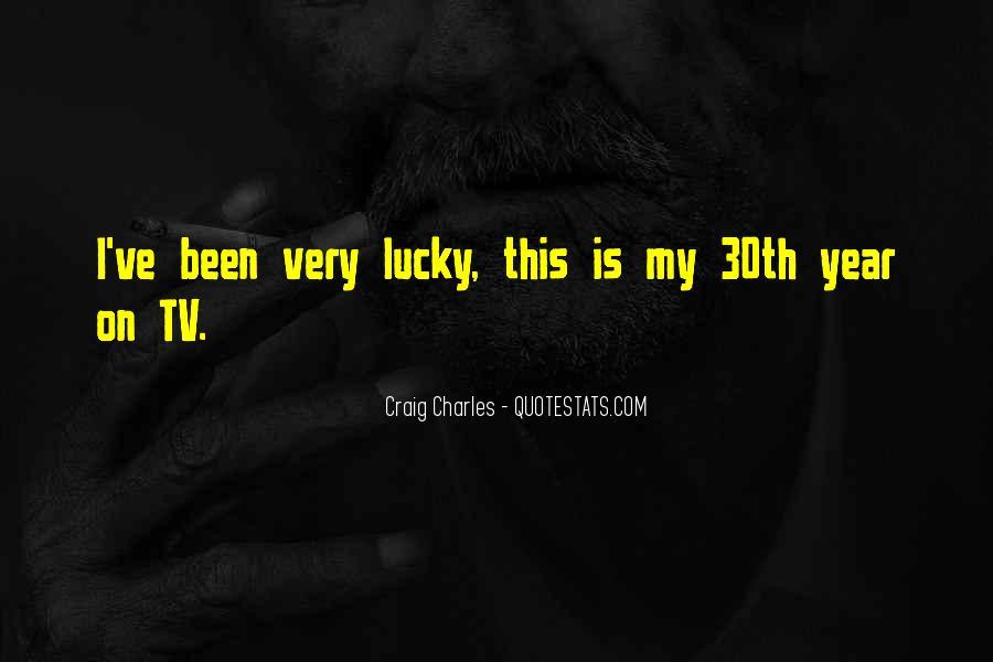 Craig Charles Sayings #859270