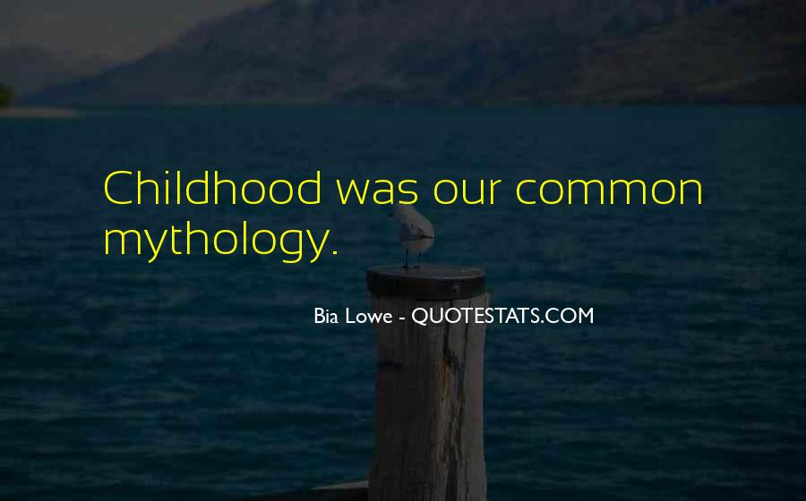 Common Childhood Sayings #395237
