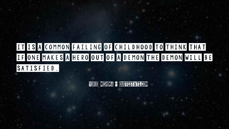 Common Childhood Sayings #51694