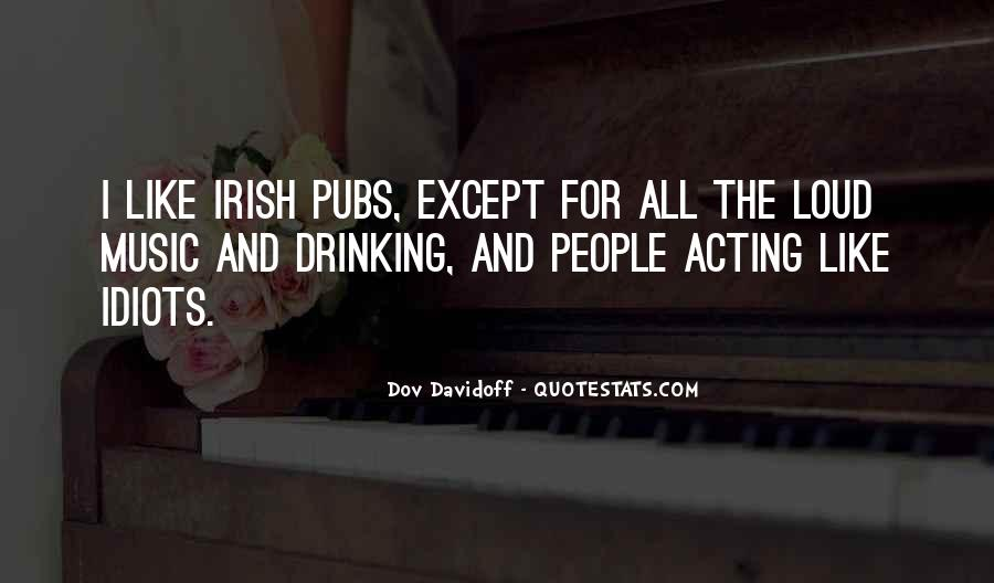 Quotes About Irish Pubs #353359