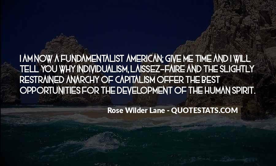 Quotes About Laissez Faire Capitalism #1035627