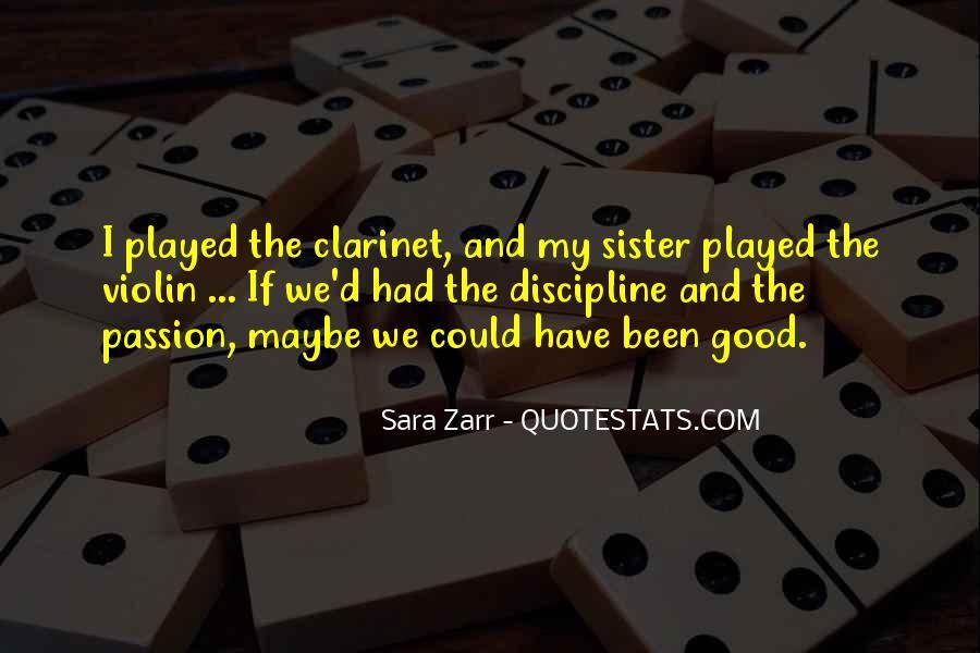 Good Clarinet Sayings #835604