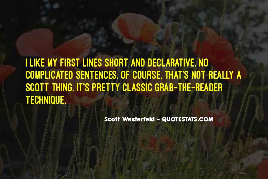 Short Classic Sayings #1367960