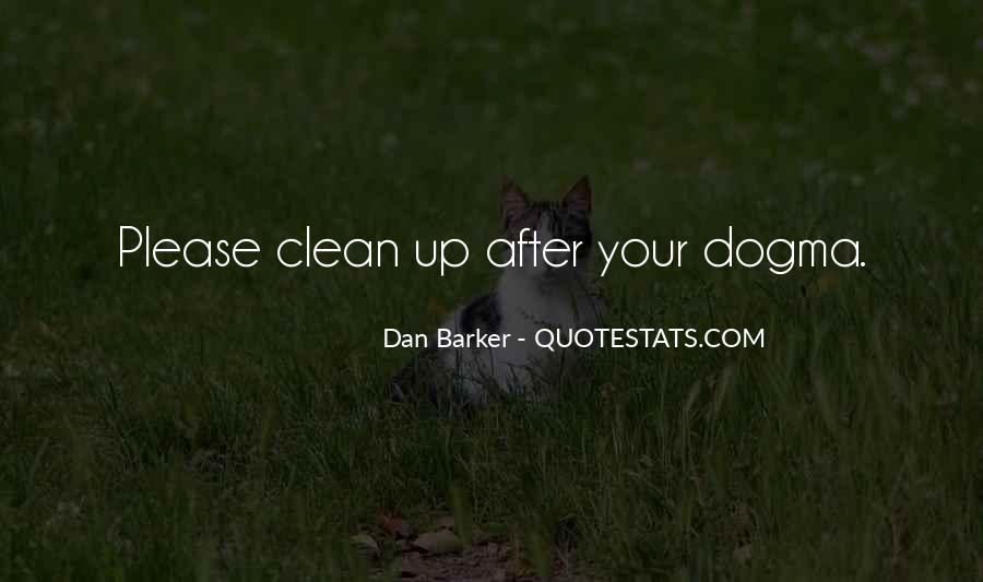 Clean Up After Yourself Sayings #406282