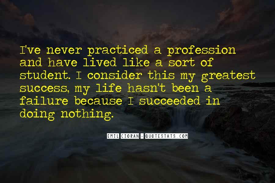 Quotes About Success Vs Failure #9073