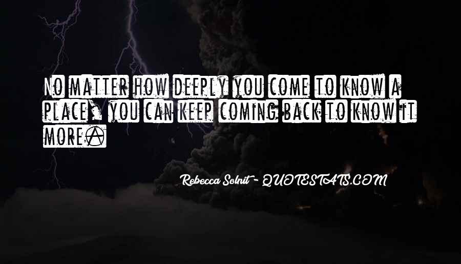 Keep Come Sayings #214049