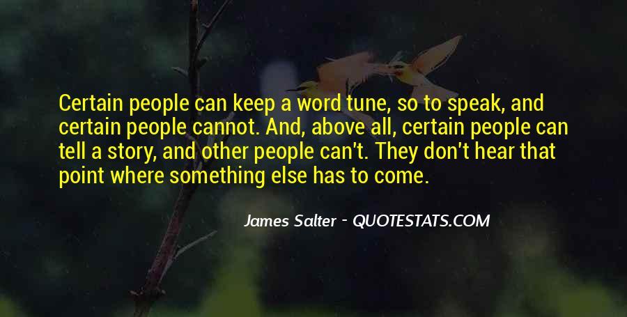 Keep Come Sayings #50724