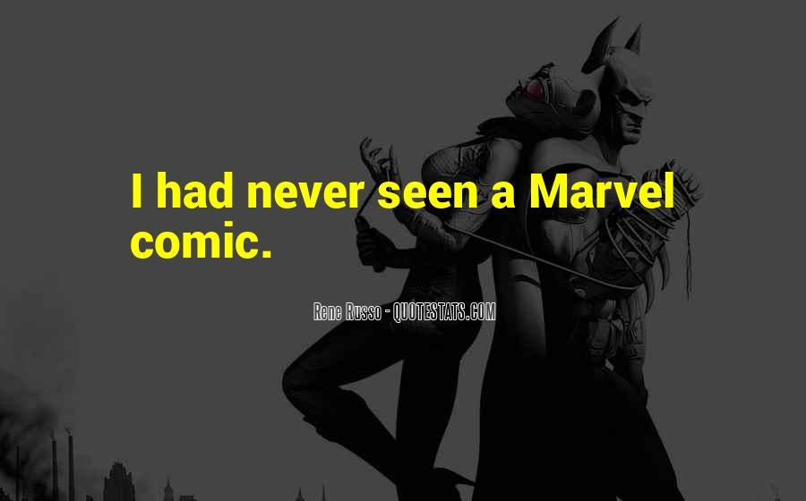 Marvel Comic Sayings #1358675