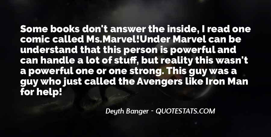 Marvel Comic Sayings #785576