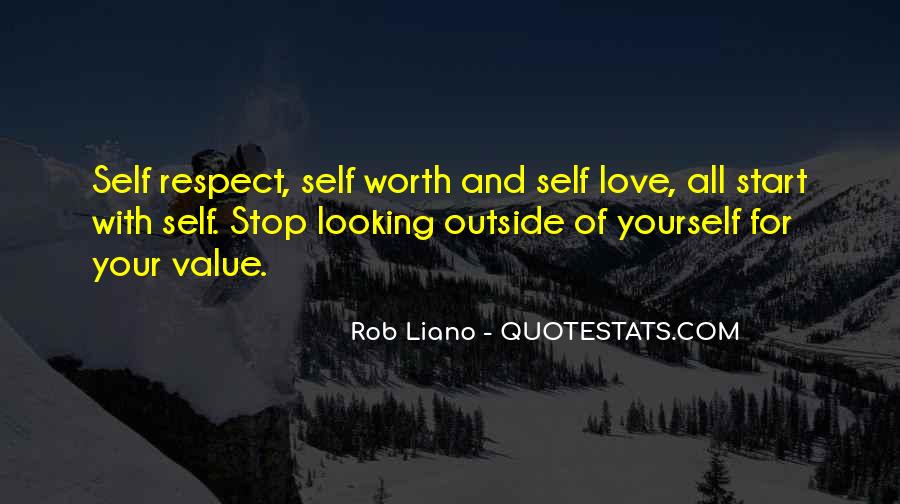 Quotes About Value And Self Worth #1580613