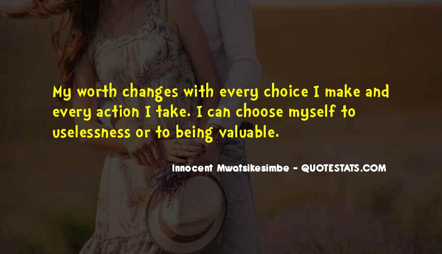 Quotes About Value And Self Worth #548213