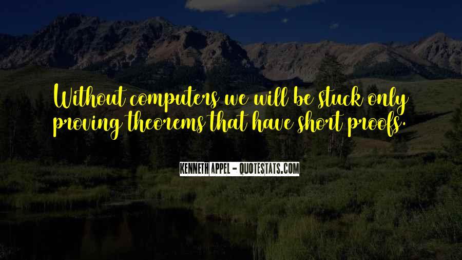 Short Computer Sayings #135034