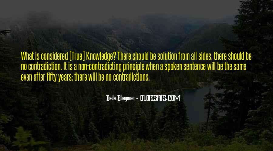 Contradicting Quotes Sayings #1650510