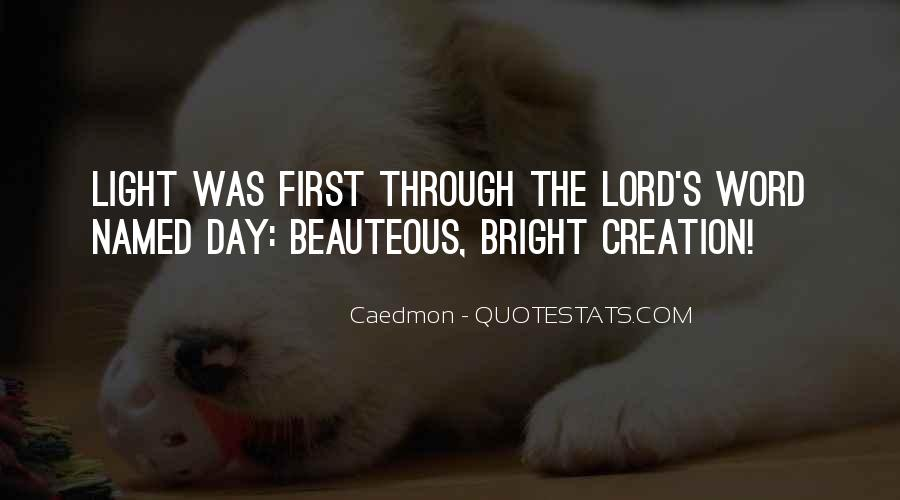 Quotes About Being Bright #3448