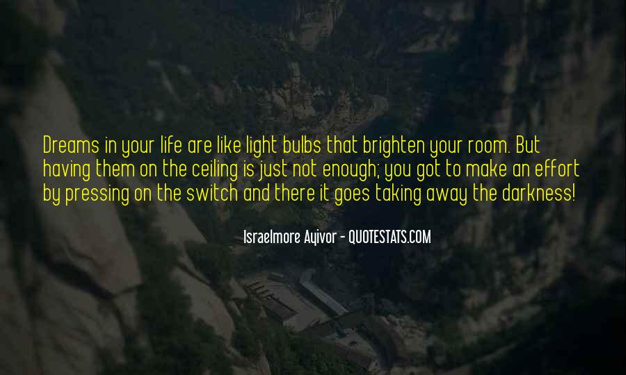 Quotes About Being Bright #48297