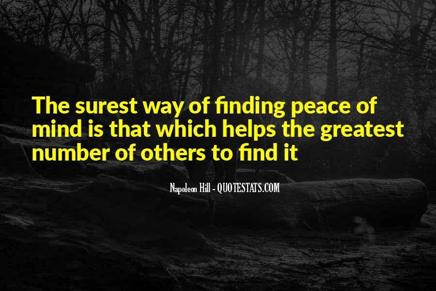 Quotes About Finding Your Own Way #2051