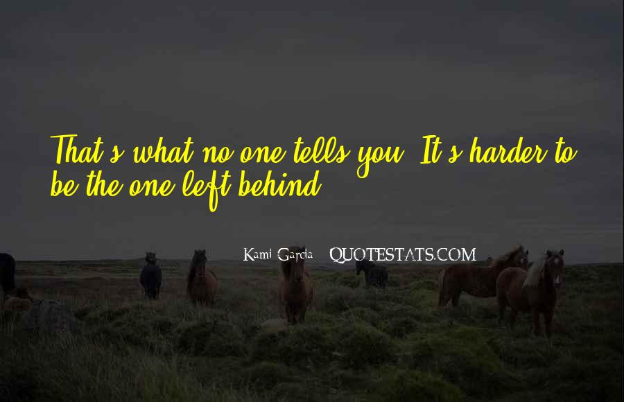 Quotes About No One Left Behind #1348542