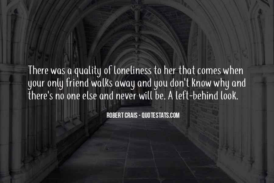Quotes About No One Left Behind #1426427