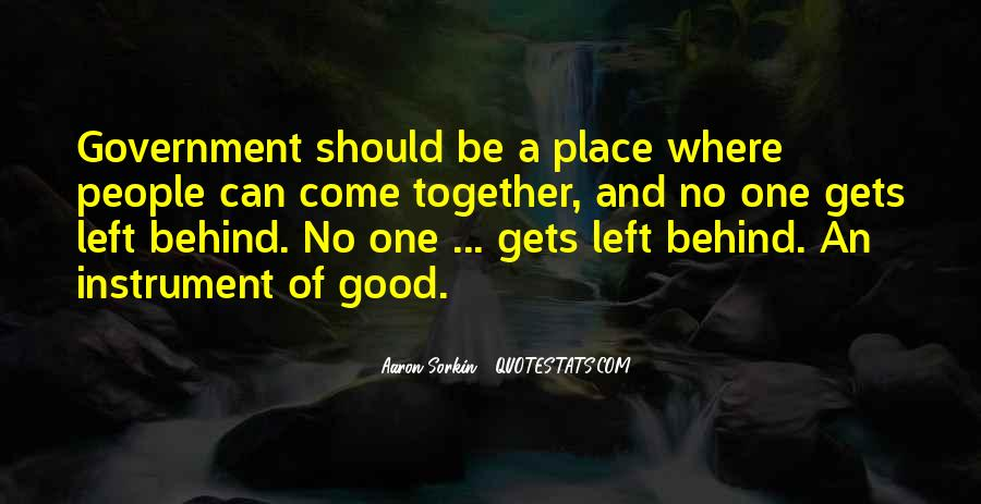 Quotes About No One Left Behind #1454886