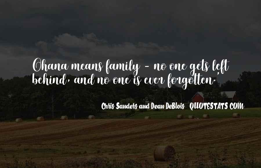 Quotes About No One Left Behind #492601