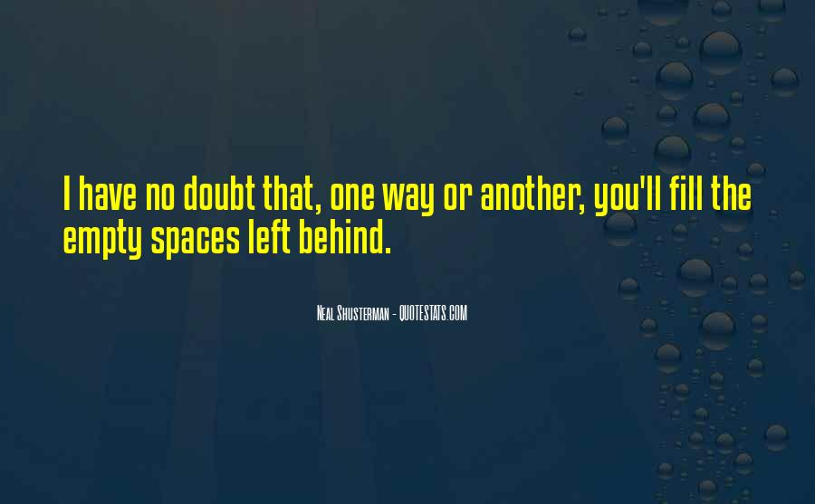 Quotes About No One Left Behind #751920