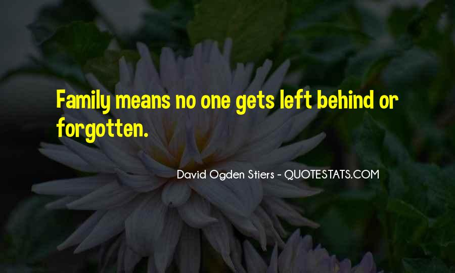 Quotes About No One Left Behind #974458