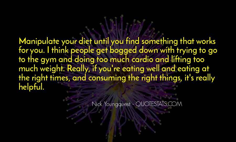 Gym Diet Sayings #1280905