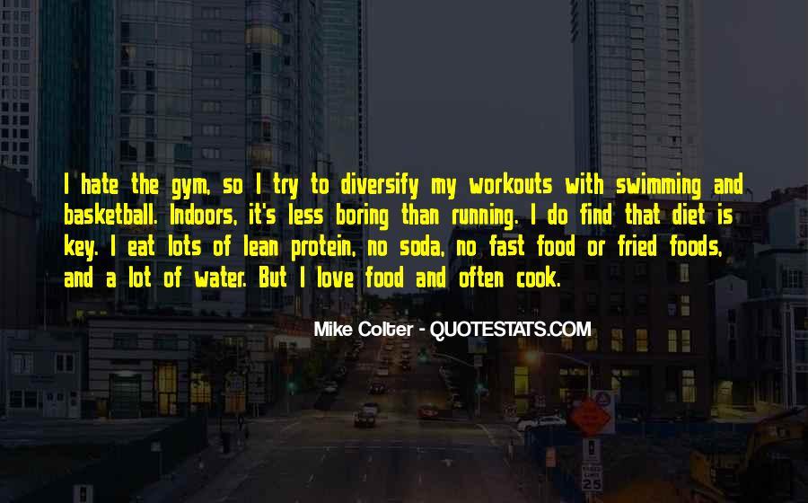 Gym Diet Sayings #1864863