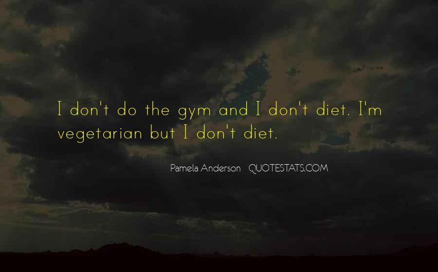 Gym Diet Sayings #196993