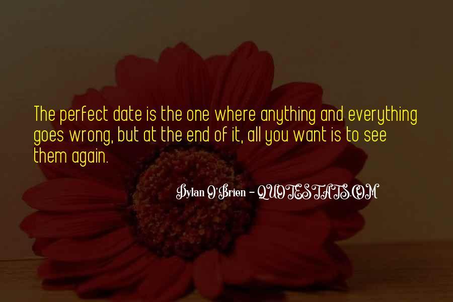 Perfect Date Sayings #1171617
