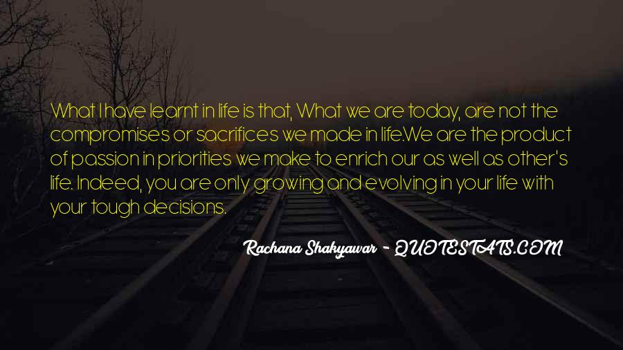 Tough Decision Sayings #970581