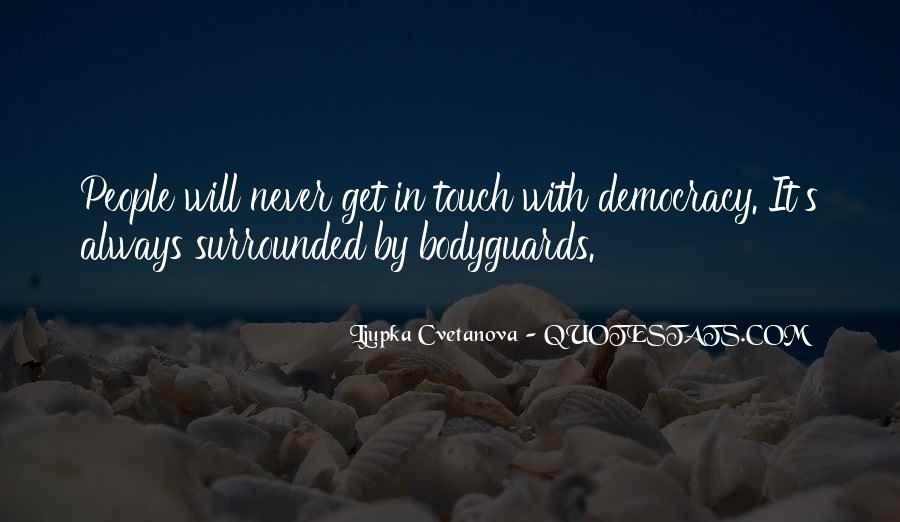Democracy Quotes Sayings #113607