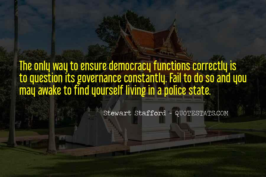 Democracy Quotes Sayings #447288