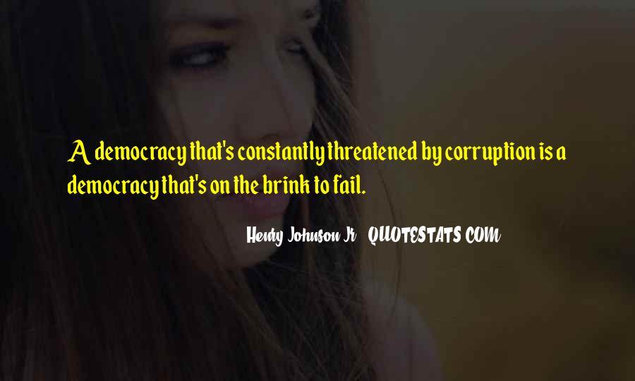Democracy Quotes Sayings #899172