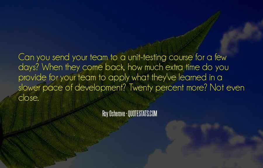 Team Development Sayings