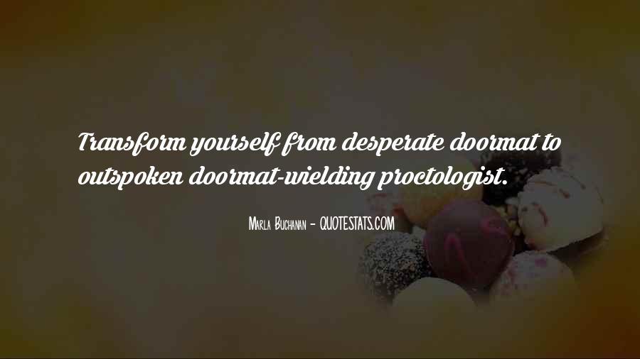 Doormat Quotes Sayings #1596278