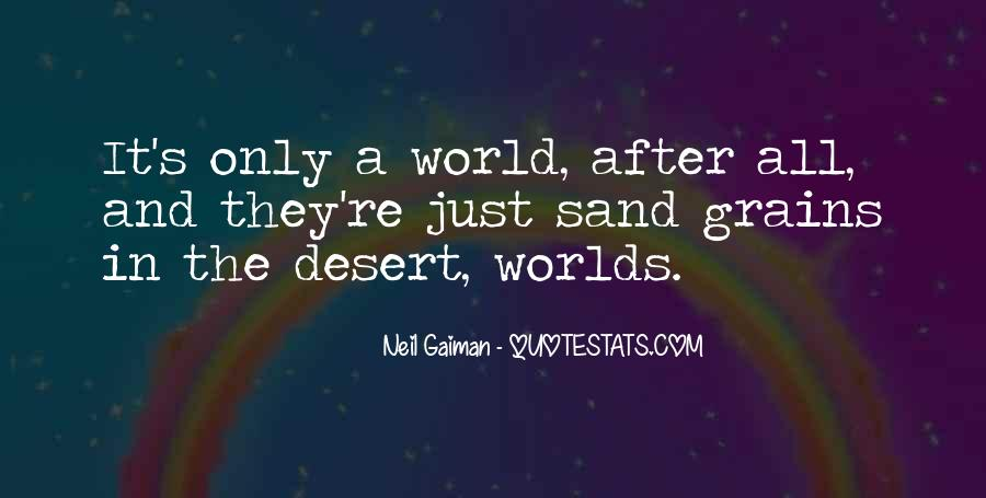 Quotes About 2 Worlds #17243