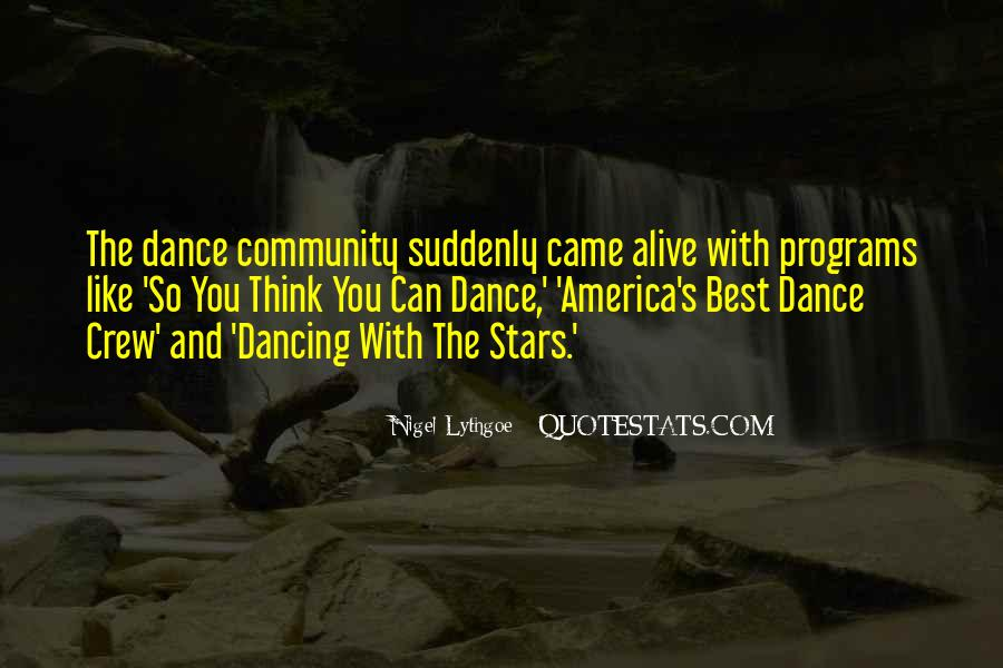 Dancing With The Stars Sayings #1280724