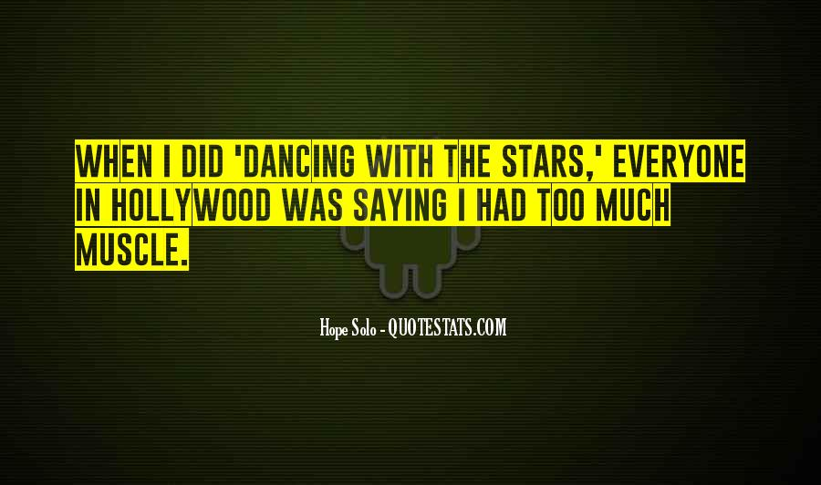 Dancing With The Stars Sayings #294984