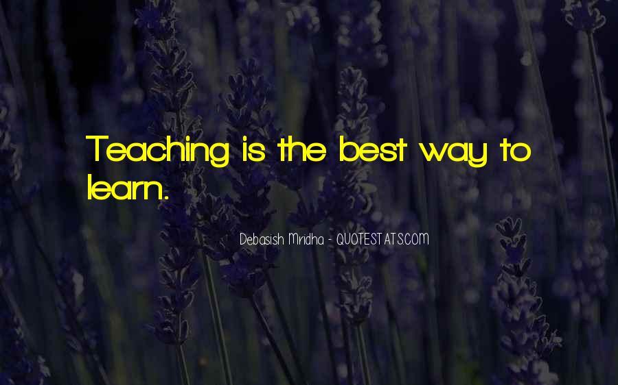 Life Teaching Sayings #164210