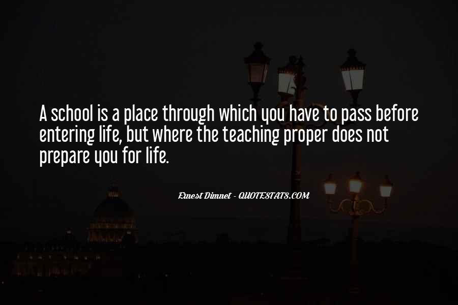 Life Teaching Sayings #279695