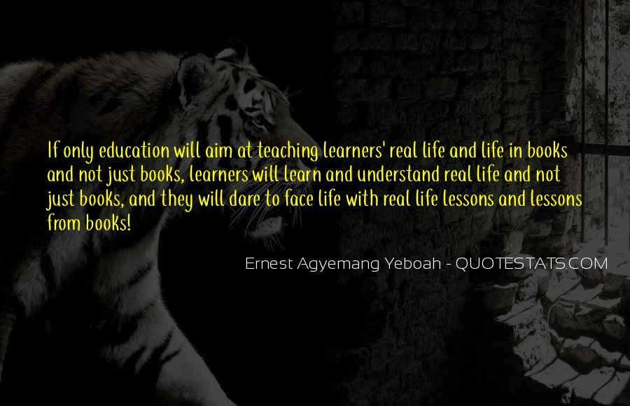 Life Teaching Sayings #299278