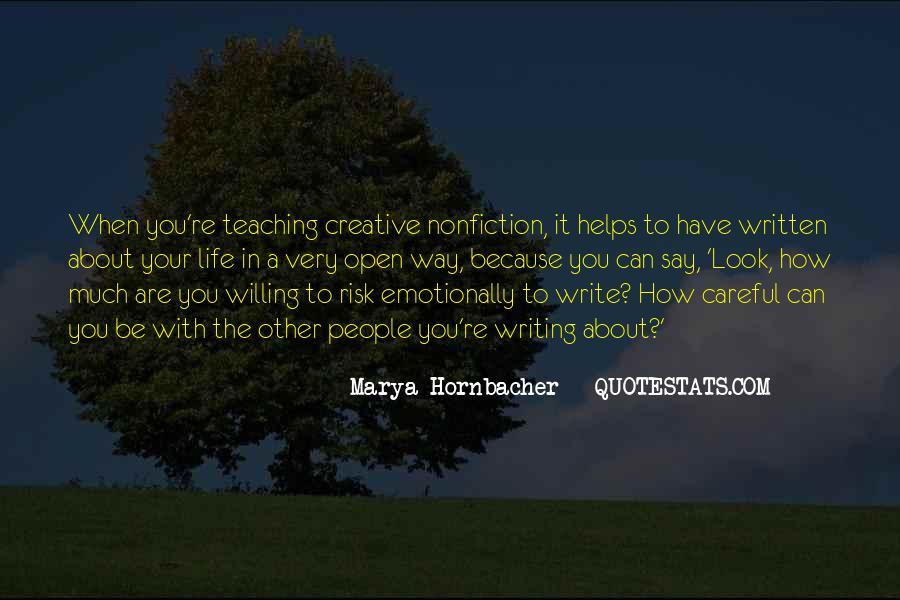 Life Teaching Sayings #343772