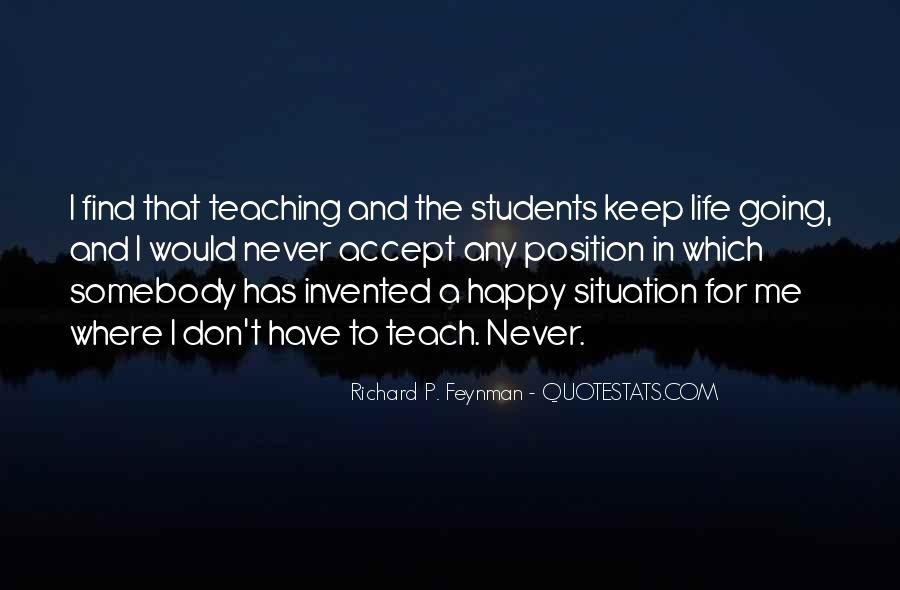 Life Teaching Sayings #350567