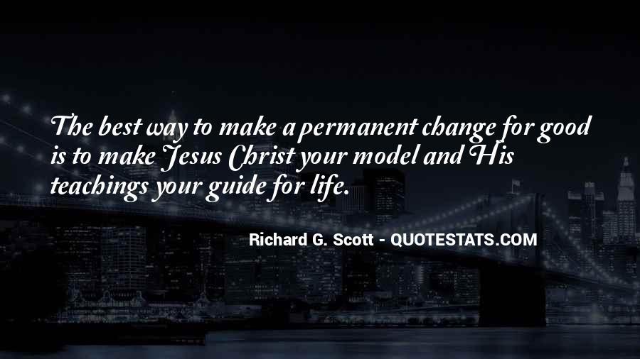 Life Teaching Sayings #405719