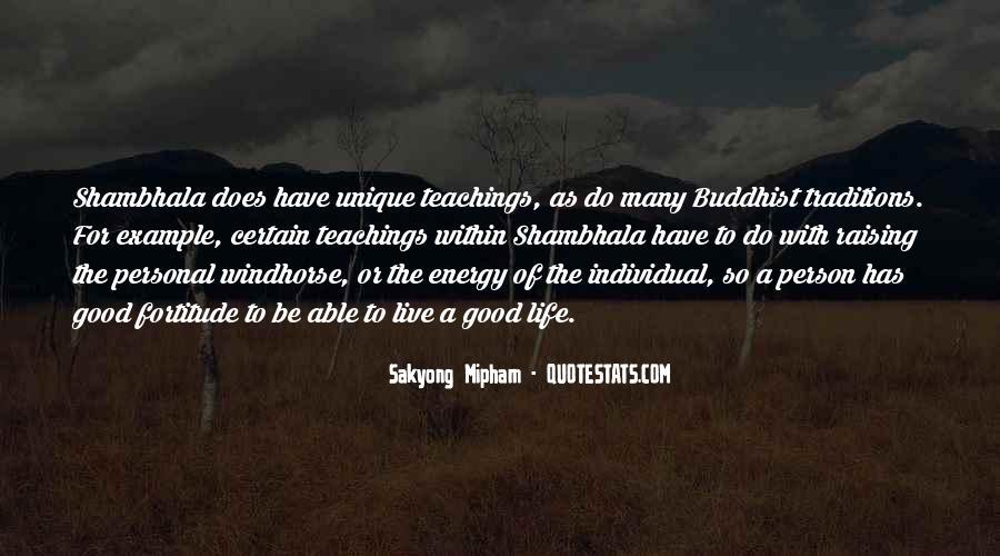 Life Teaching Sayings #423215