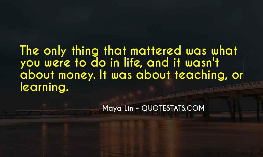Life Teaching Sayings #471204