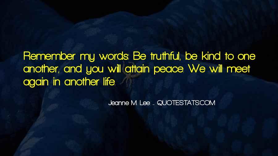 Life Teaching Sayings #69570