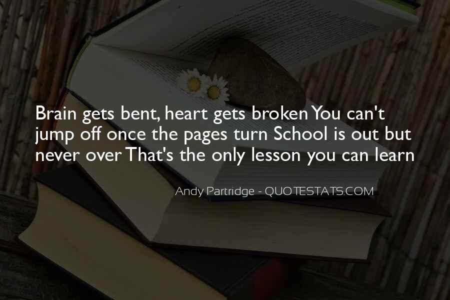 Quotes About Heart Over Brain #1000388