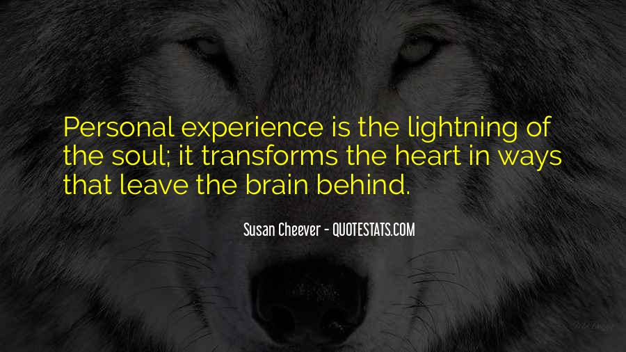 Quotes About Heart Over Brain #106033